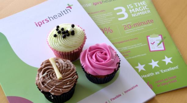 IPRS Health Cupcakes